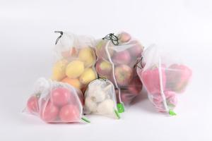 Produce Bags with Fruit
